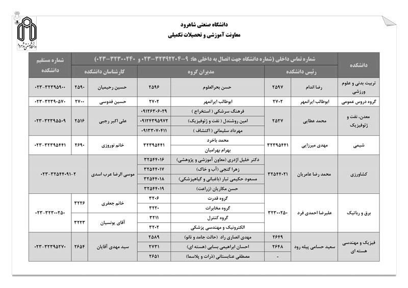 اطلاعات-تماس-دانشکده¬ها---9-2